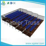 Indoor Gym Bleachers / Aluminum Bleachers Seats for Indoor Theatre