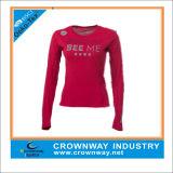 Custom Gym Fitness Long Sleeve T Shirt for Women