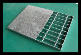 Composite Steel Grating with Anti-Slip Steel Plate