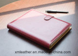 High Quality PU Leather Diary Notebook for Business
