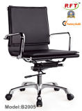 Modern Office Leather Swivel Aluminium Manager Chair (RFT-B2005)
