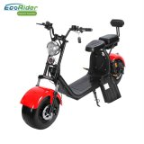 Ecorider 60V 1000W Citycoco Double Battery Electric Scooter with Suspension and Double Seat