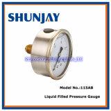 Liquid Filled Pressure Gauge -Back Connection (115AB)