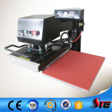Pneumatic Double Stations Automatic Head Shaking T Shirt Heat Transfer Machine