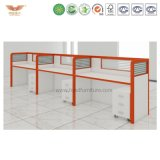 Good Quality Office Workstation for 4 People, Best Mobile 4 People Office Desk