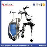 Nylon Wheels 304 Steel Drum Trolley