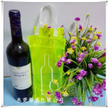Colorful Translucent Plastic Gift Bag & Handbags