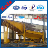 Alluvial Gold Mobile Trommel Screening and Washing Plant