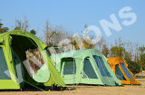 2 Bedroom 1 Living Room Portable Inflatable Tent Camping Tent