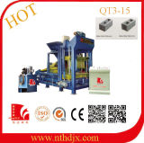 Qt3-15 Semi-Automatic Hydraulic PLC Control Concrete Block Forming Machine