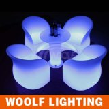Waterproof Light up Glow LED Plastic Garden Furniture