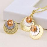 Fashion Simple Three-Jewelry Color Imitation Jewelry Set -61260
