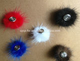 Mink POM Snap Use for Hair/Clothes/Hat/iPhone