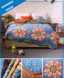 100%Polyester Print Home Bedspread Scallop Quilt