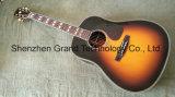 Vintage Sunburst Top AAA Solid Spruce Body Acoustic Guitar (J45)