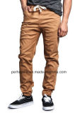 Cool Mens Drop Crotch Jogger Pants with Elastic Legs Opening