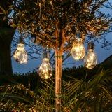 6LED Plastic Solar Hanging Festoon Bulb Light