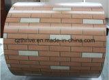 Prepainted Aluminum Coil in Brick Pattern