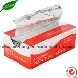 Airline Foil Pop-up Individual Aluminum Sheet for Wrapping Food
