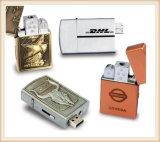 Gold Silver Lighter USB Flash Drive for Man (EM030)