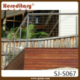 Stainless Steel Material Handrail Design for Cable Railing (SJ-S067)