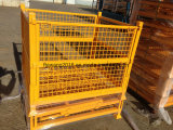 Galvanized / Powder Coated Folded Storage Cage /Rack