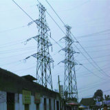 110kv Tension Power Transmission Angle Steel Tower