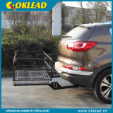 Foldable Rear Basket Hitch Mount Cargo Carrier (RS02)