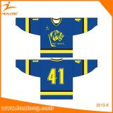 Healong Sublimation Customized Ice Hockey Jersey Uniforms