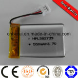 3.7V Li-Po 1500mAh Battery for Electrical Product