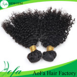 Virgin Unprocessed Afro Kinki Hair Virgin Human Hair Weft