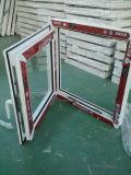 Single Leaf Pane Cheap Design UPVC Window