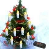 Attractive Design Ivory LED Flameless Candle