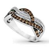 Infinity Fashion Jewelry 925 Silver Rings Micro Setting CZ
