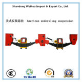 Hot Salsing American Type Suspension Under Slung of 3 Axles