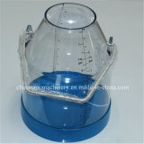 Transparent Milking Buckets with Cover