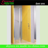 Simple Rectangle Tempered Glass Shower Screen (TL-420)