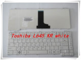 New for Toshiba C600 C600d Laptop Keyboard White Us Layout
