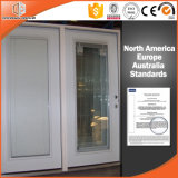 Aluminum Clad Wood Casement Window Built-in Blinds Integral Shutter Inward Opening Window Afghan Client