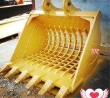 20t 30t 40t Excavator Spare Parts Skeleton Sieve Bucket