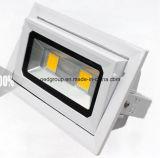 40W 3600lm LED Recessed Shopfitter Rectangular LED Light