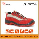Waterproof Cow Suede Leather Ladies Safety Shoes RS140