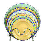 2015 High Quality Enamelware Soup Plate 14-26cm