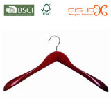 Red Paint Wooden Hanger for Coat