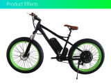 26*4.0 1000W Big Power Fat Tire Electric Bicycle with Ce