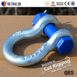 G2130 Color Pin Drop Forged Omega Bow Shackle