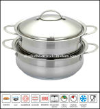 Stainless Steel Low Pot Set Casserole