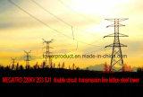 Megatro 220kv 2D3 Sj1 Double Circuit Transmission Tower