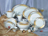Dinner Set Gold Coating Machine