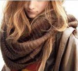 Neckerchief Knit Scarf 60*32cm Women Warm Winter Style Solid Soft Neck Gaiter Woolen Yarn Colorful Scarf and Shawl